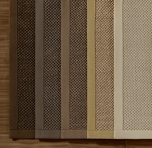 Textured Weave Sisal Rug Swatch