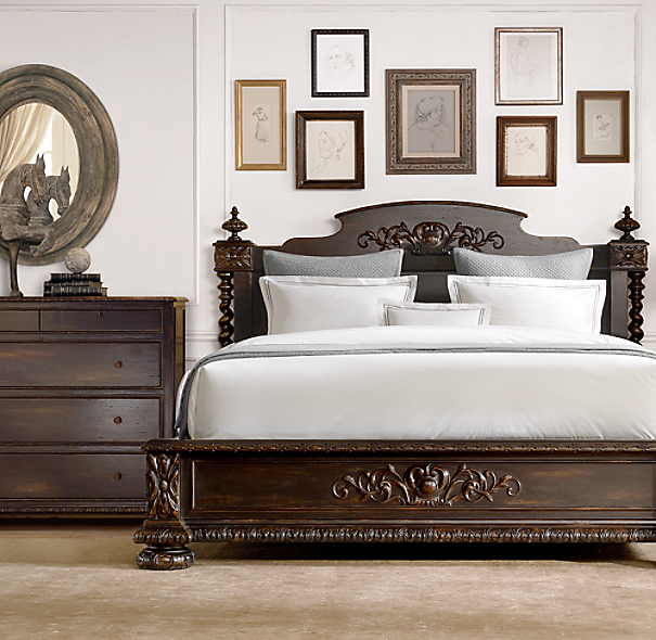French Empire Bed