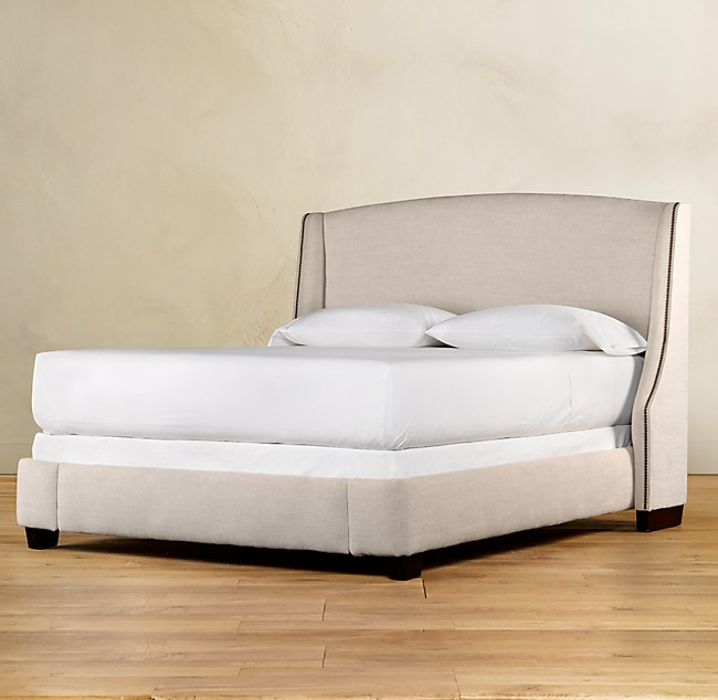 Warner Upholstered Bed without Footboard
