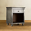 Zinc Open Nightstand