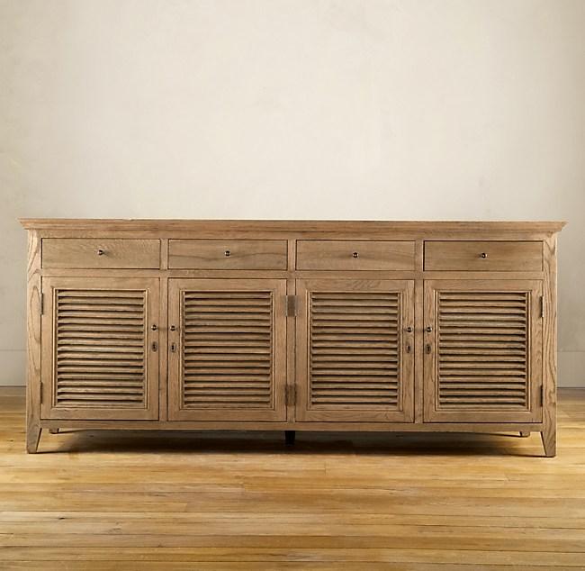 Shutter Low Cabinet