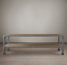 Dutch Industrial Coffee Tables