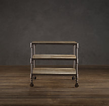 "28"" Dutch Industrial Side Table"