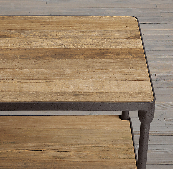 Dutch Industrial Side Table