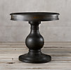 Vintage Foyer Pedestal Table