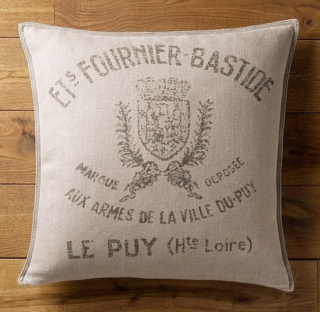 Fournier Bastide Pillow Cover