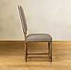 Empire Camelback Upholstered Side Chair