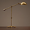 Rowan Pharmacy Task Table Lamp Antique Brass