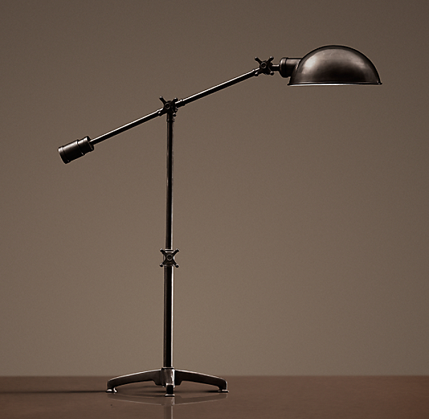 Rowan Pharmacy Task Table Lamp Bronze