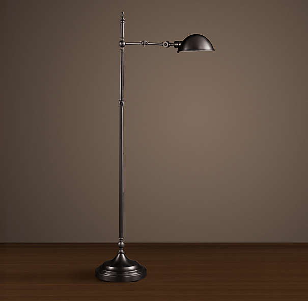 Franklin Pharmacy Task Floor Lamp Bronze