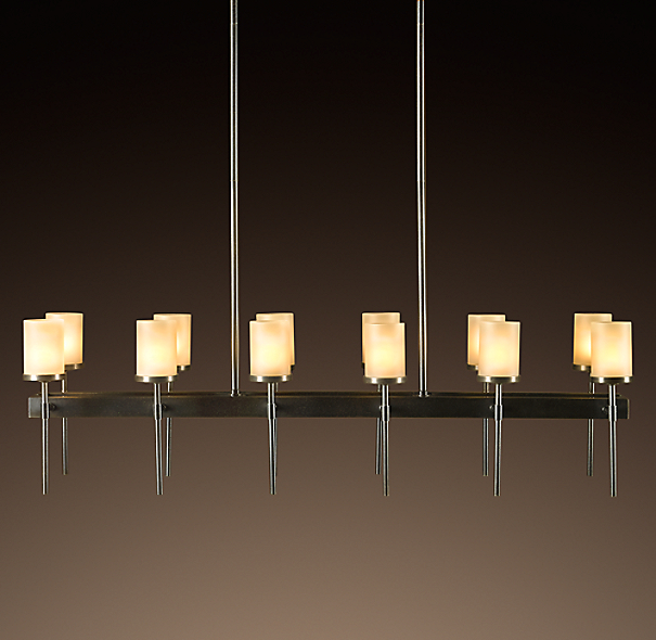 Sloane Rectangular 12-Arm Chandelier