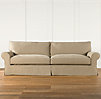 "104"" Grand-Scale Roll Arm Slipcovered Sofa"