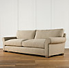 "72"" Grand-Scale Roll Arm Upholstered Sofa"