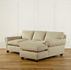 Lancaster Upholstered Sofa Chaise Sectionals