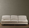 "96"" English Roll Arm Upholstered Sleeper Sofa"