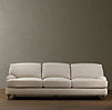 "84"" English Roll Arm Upholstered Sofa"