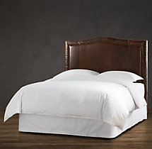 Latham Leather Headboard