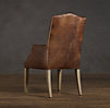 Hudson Camelback Leather Armchair