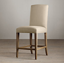 Hudson Parsons Upholstered Counter Stool