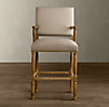 Empire Parsons Upholstered Barstool