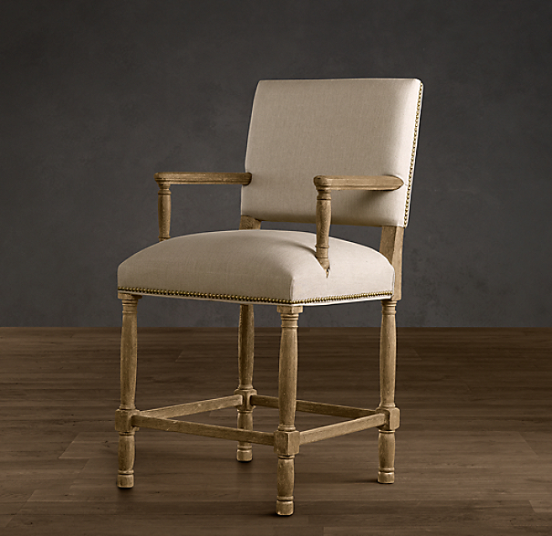 Empire Parsons Upholstered Counter Stool