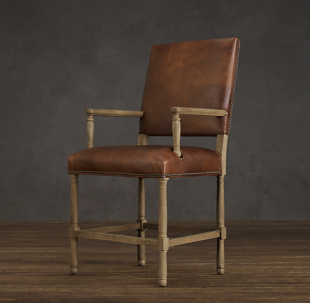 Empire Parsons Leather Counter Stool