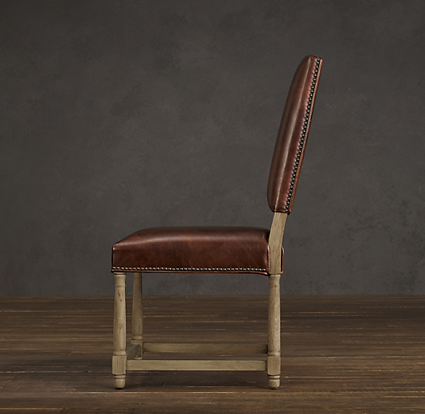 Empire Parsons Leather Side Chair
