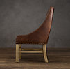 Nailhead Leather Chair