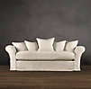 "72"" Camelback Slipcovered Sofa"
