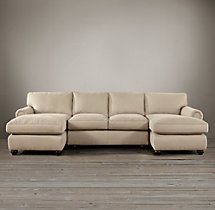 Lancaster Upholstered U-Chaise Sectional