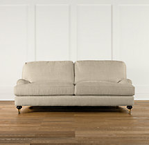 "80"" English Roll Arm Upholstered Sofa"