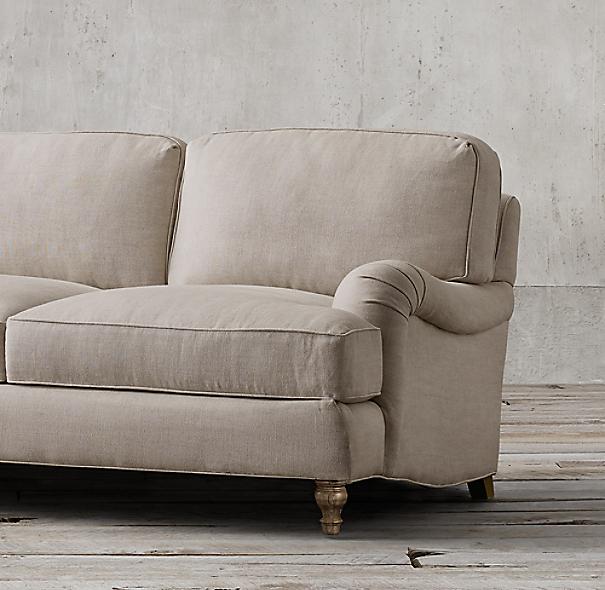 English Roll Arm Sofa: English Roll Arm Upholstered Sleeper Sofa