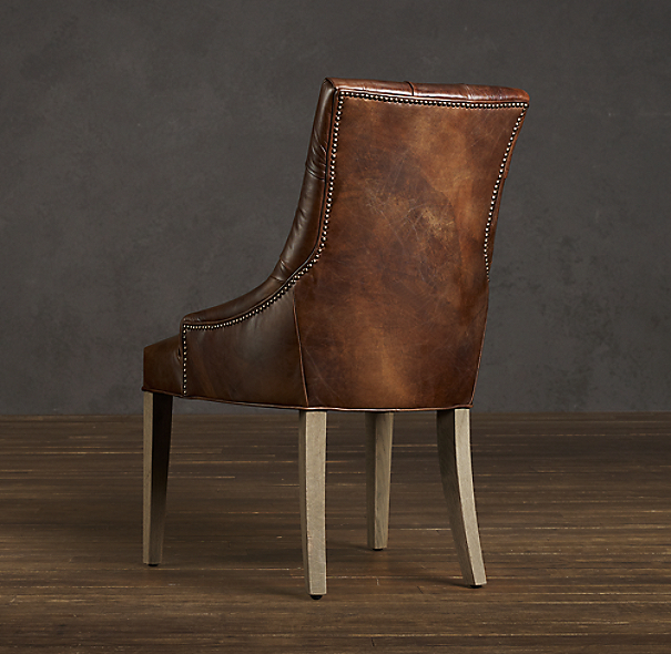 Martine Leather Armchair
