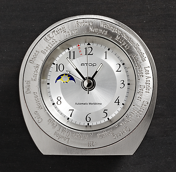 Mini World Time Alarm Clock
