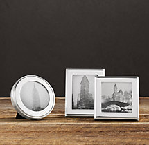 Hampton Mini Narrow Silver-Plated Frames (Set of 3)