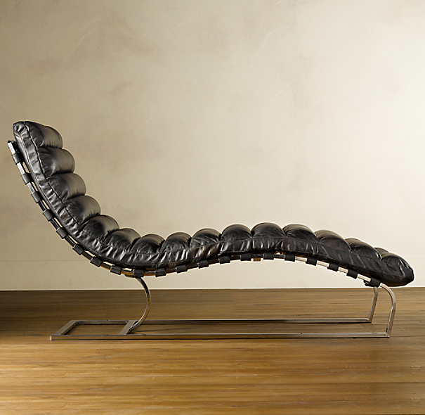 Oviedo Leather Chaise