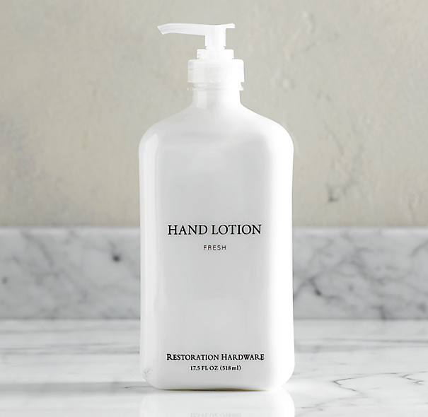 Restoration Hardware Inc: Signature Cleaning Hand Lotion