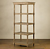 Weathered Oak Étagère Medium