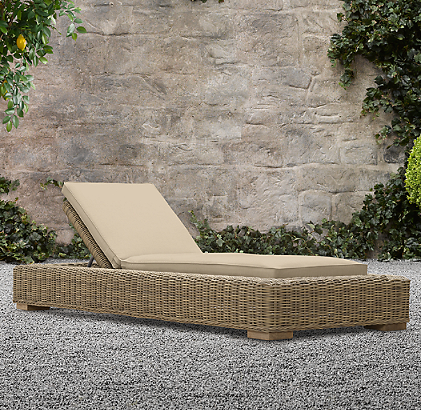 Provence Luxe Chaise Cushion