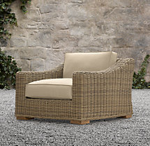 Provence Luxe Lounge Chair Cushion