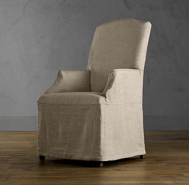 Slipcover for Hudson Camelback Slipcovered Armchair