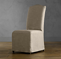 Slipcover for Hudson Camelback Slipcovered Side Chair
