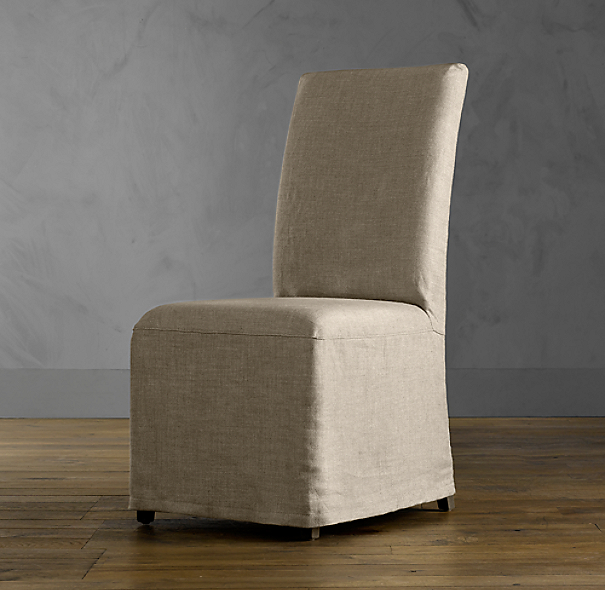 Replacement Slipcover For Hudson Parsons Slipcovered Side