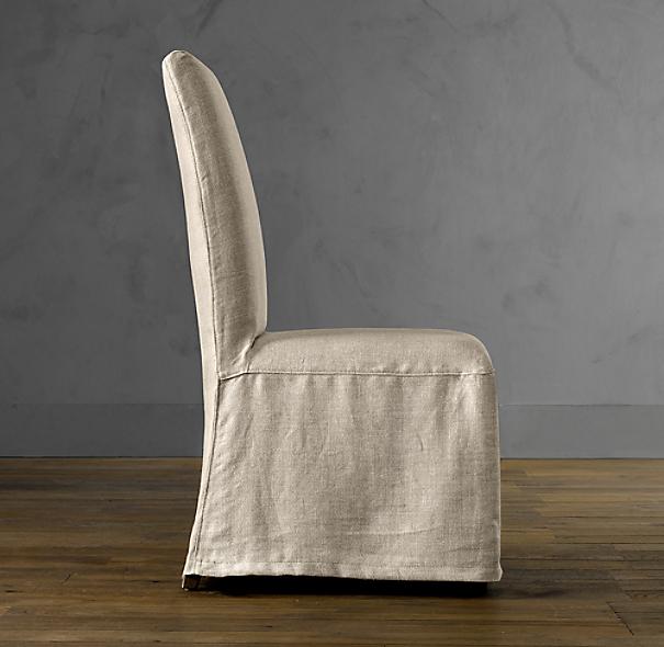 Hudson Parsons Slipcovered Side Chair