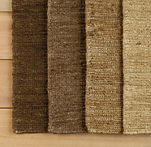 Braided Hemp Rug Swatch