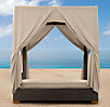 Del Mar Queen Daybed Drapes