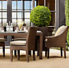 La Jolla Rectangular Dining Set (Set of Table 2 Armchairs and 4 Side Chairs)