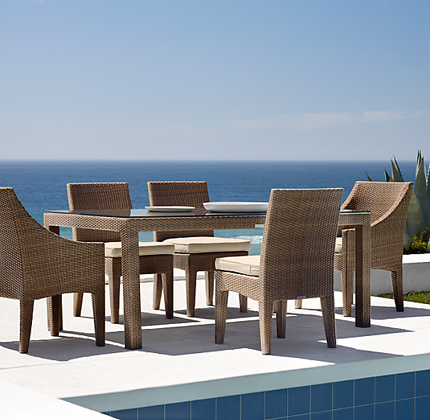 La Jolla Rectangular Dining Table