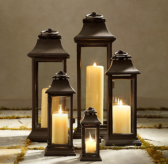 diy by design decorating with lanterns