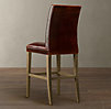 Hudson Parsons Leather Barstool